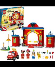 10776 Miki ja sõprade tuletõrjedepoo ja -auto
