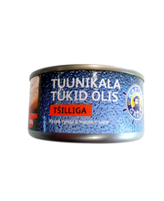 Tuunikala tükid õlis tšilliga 185 g