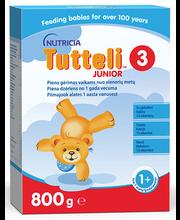 Tutteli 3 piimal põhinev juuniorpiim 800 g, alates 12-elukuust