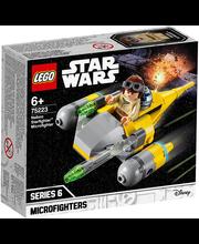 75223 Star Wars Naboo Starfighter-i mikrovõitleja