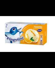 Vanilli-koorejäätis apelsinikastmega, 1 l