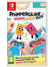NSW mäng Snipperclips Plus