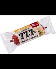 77,7% Juustuvorst 350 g