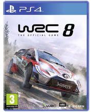 PS4 mäng WRC 8