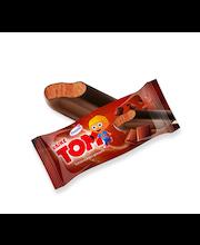 Väike Tom šokolaadijäätis šokolaadiglasuuriga, 90 ml