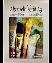 Joonistuspaber akvarell A3/30l 210g/m²