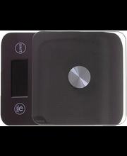 Digitaalne köögikaal 20,5x15,5x4,4 cm ( ei sisalda patareid)