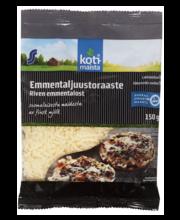Emmentali riivjuust, must, 150 g