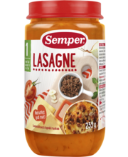 Semper lasanje 235 g, alates 1-eluaastast
