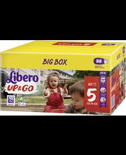 Libero Up&Go 5 Püksmähe 10-14kg 80 tk.