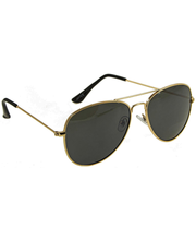Eyeguard päikeseprillid pilot kuld/must