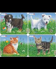 Raampuzzle Koerad / kassid