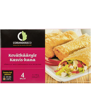 Köögivilja-kana kevadrullid, 400 g