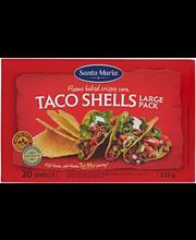 Santa Maria Taco Shells, krõbedad takokoorikud maisist, 225 g