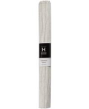 Lauamatt Lurex 33x45 cm, valge
