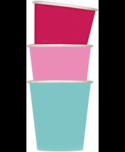Papptops 50 tk värvimix 18cl