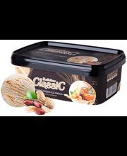 Maapähkli-koorejäätis soolase karamelliga, 1 l