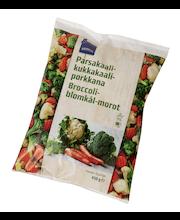 Brokoli, lillkapsas, porgand, 450 g