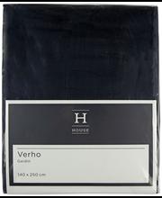 Kardin Hanna 140 x 250 cm, must, 100% polüester