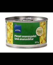 Väiksed ananassitükid omas mahlas 227/140 g