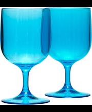 Veiniklaas Dina 0,35 l, sinine plast