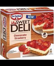 Dr. Oetker külmutatud maasika juustukook, 550 g