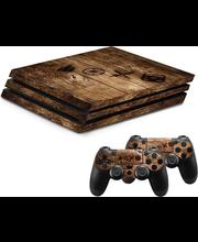 PS4 Pro kaitseümbris Wood