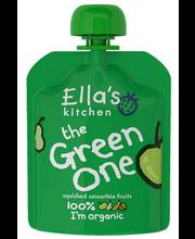 Ella´s Kitchen roheline puuviljapüree 90 g, öko, alates 6-elukuust