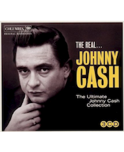 "CD JOHNNY CASH ""THE REAL JOHNNY CASH: ULTIMATE COLLECTION"""