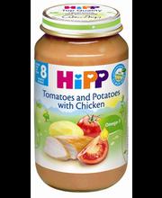 HIPP tomat-kartul-kanalina 220g 8K+,glüteenivaba
