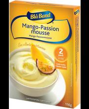Blå Band Mango-passionmousse, 2 × 58 g
