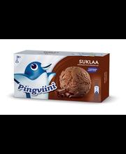 Šokolaadi-koorejäätis ja šokolaadimaitselised tükid, 1 l