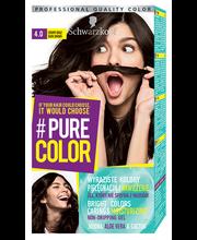 Juuksevärv pure color 4.0 tumepruun