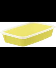 Toidukarp 1,2 l kollane