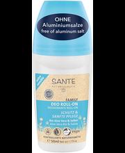 Alumiiniumivaba rulldeodorant Sante sensitive 50 ml