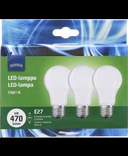LED-lamp 4W E27 2700K 470LM, 3 tk