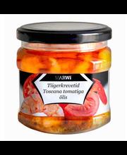 Tiigerkrevetid Toscana tomati õlis 400/200 g