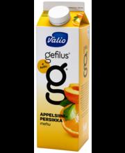 Valio Gefilus apelsini-virsikumahl kiudainetega, 1L