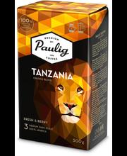 Filtri- ja presskannukohv Tansania Origins Blend 500 g
