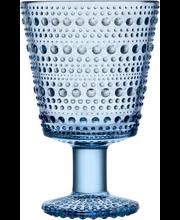 Klaas jalaga Kastehelmi 26 cl 2 tk, veesinine