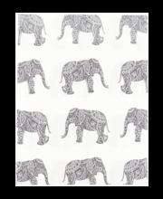 Voodipesukomplekt Elephas 150x210/50x60 cm hall 100% puuvill