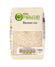 Basmati riis 500 g, Organic