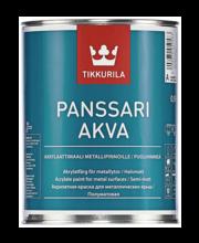 Akrülaat plekk-katusevärv PANSSARI AKVA C 0,9 l