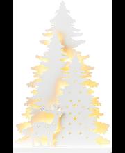 Jõuludekoratsioon Mets LED