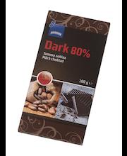 Rainbow tume šokolaad 80% 100 g