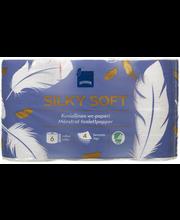 Tualettpaber Silky Soft 6 rulli, 4 kihiline