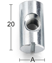 Habo tapimutter, M6, 20 x 10 mm, 4 tk