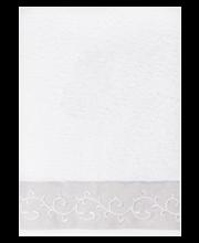 Vannirätik House Delux, 70 × 140 cm, valge
