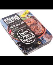 BBQ mureli grill-liha kaelakarbonaadist 500 g