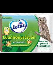 Lotus WC-paber 6 rulli